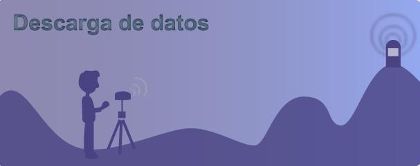 Descarga de datos gps icv terrasit